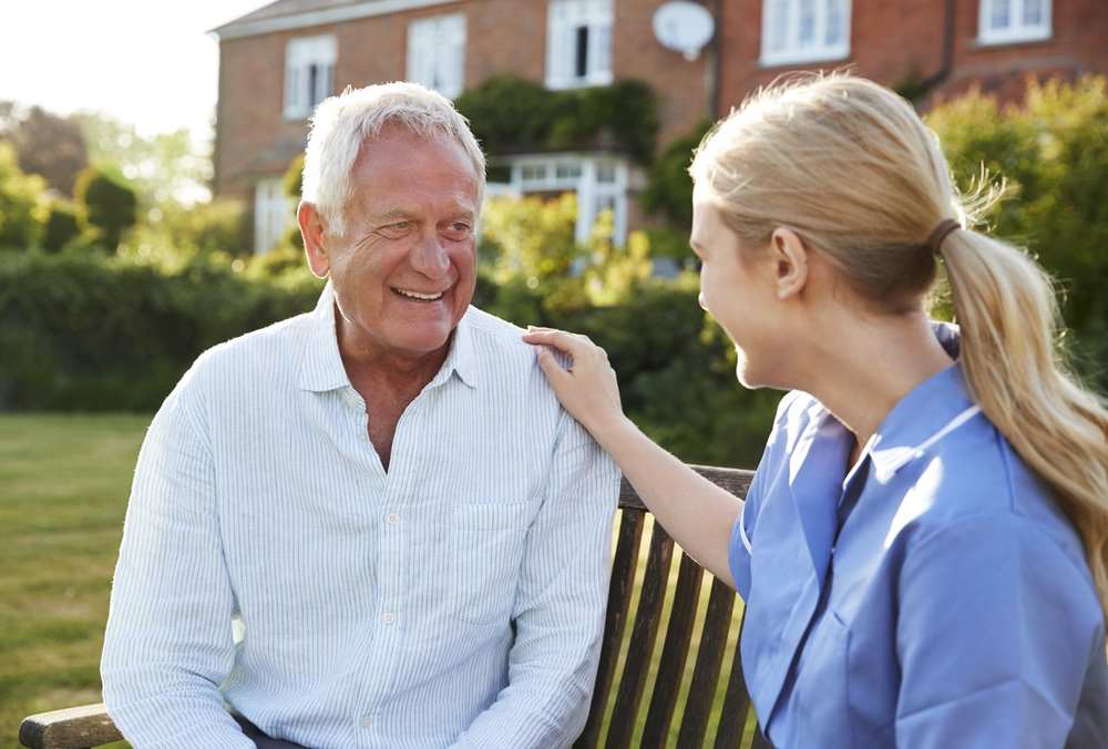 Caregiver focused on keeping you well